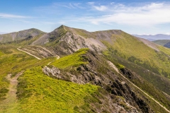 Ridge path to Hopegill Head
