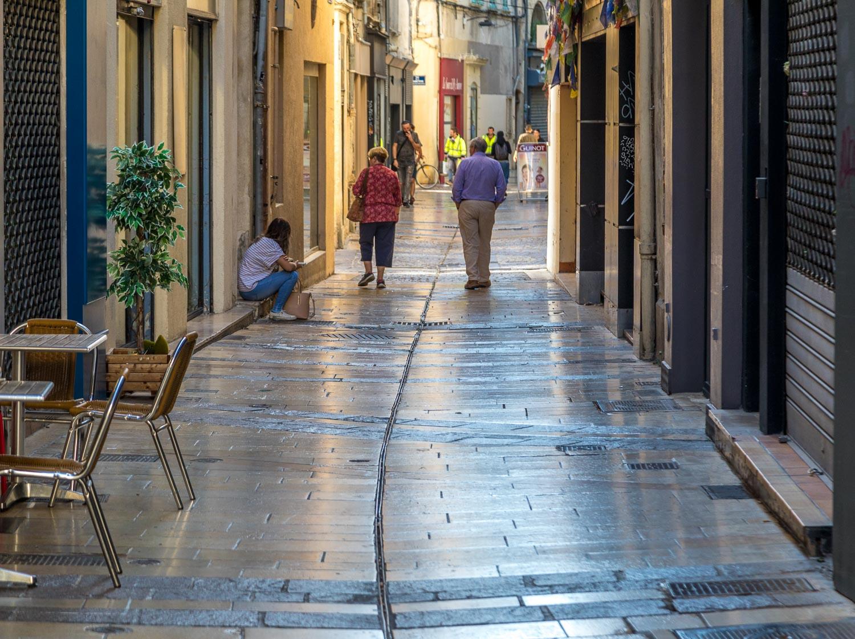 Old town of Avignon