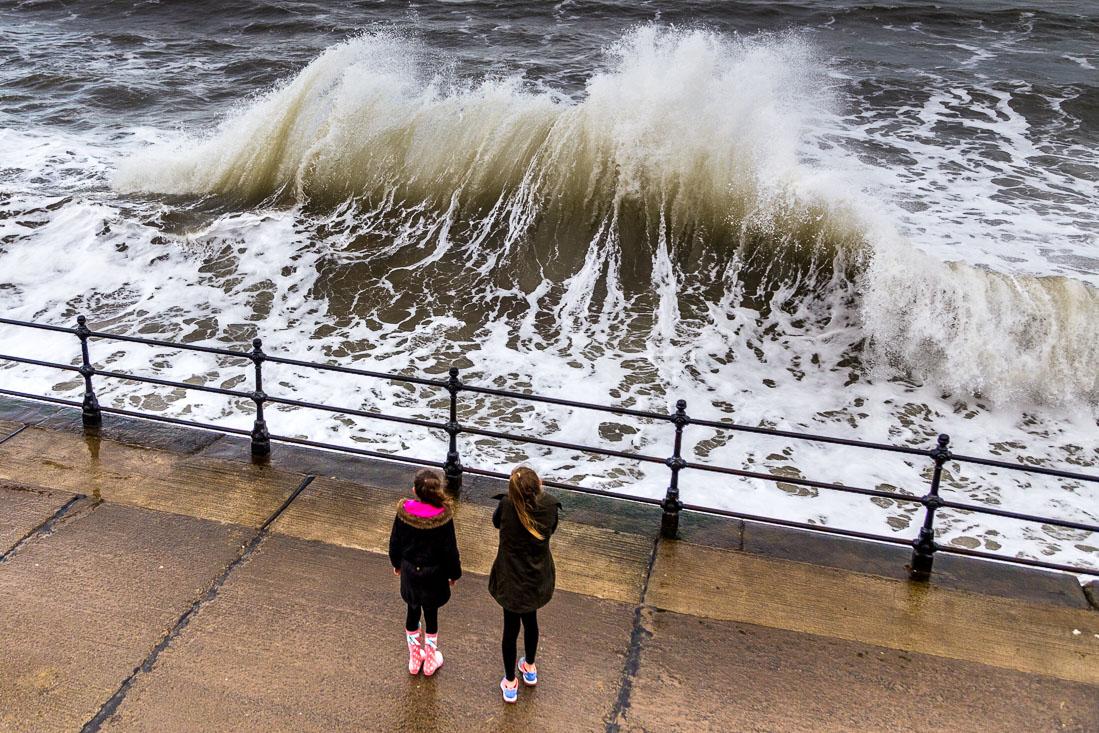 Waves at Scarborough