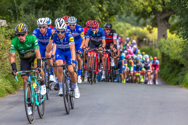 The peleton, Tour of Britain 2018