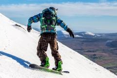 Blencathra snowboarding