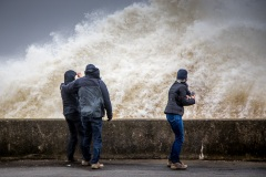 Waves at Maryport