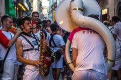 Festival in Jaca, Spanish Pyrenees