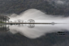 Mist on Crummock Water this morning