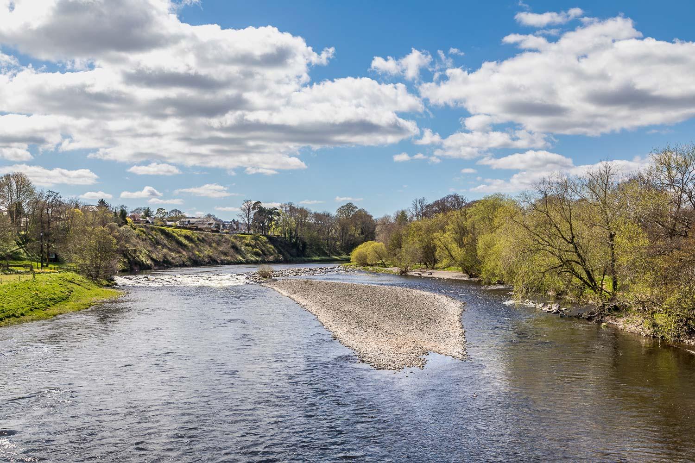 River Tweed near Melrose