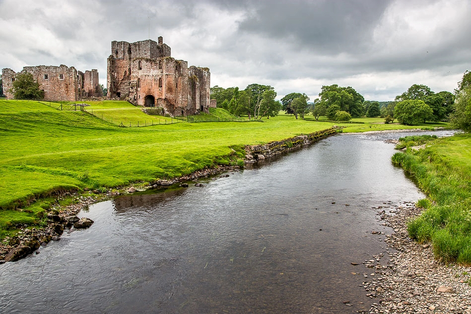 River Eamont and Brough Castle