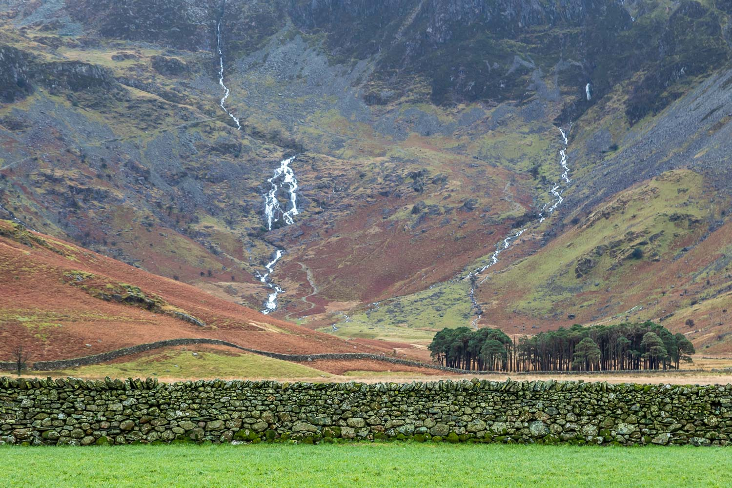 Warnscale Beck and Black Beck, Buttermere