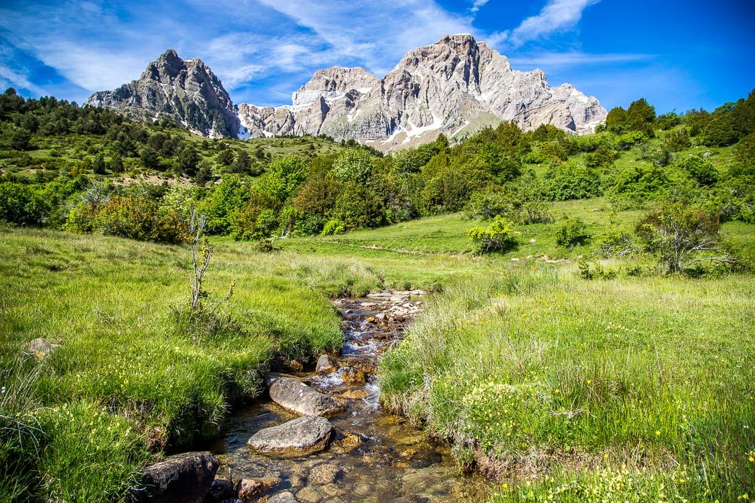 Small stream, Spanish Pyrenees