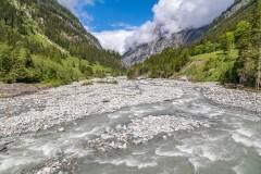 River Kander, Gasterntal, Bernese Oberland
