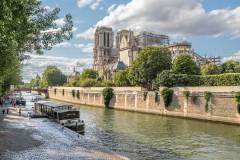 Notre Dame, River Seine, Paris