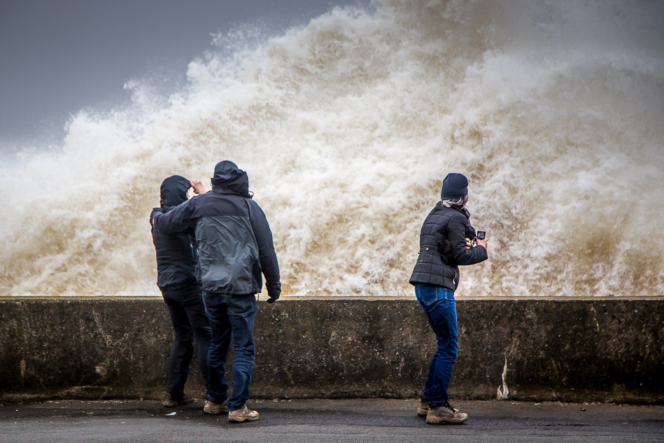 Storm at Maryport
