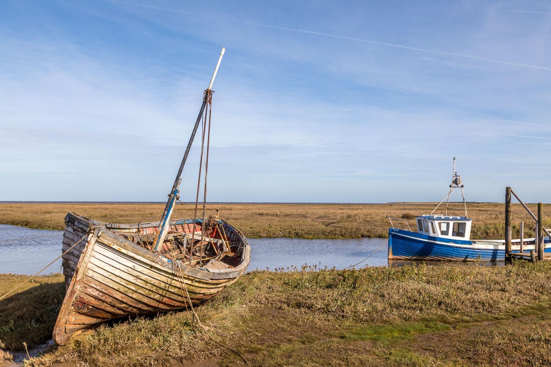 Thornham Harbour, Norfolk