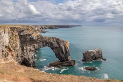 The Green Bridge of Wales, Pembrokeshire