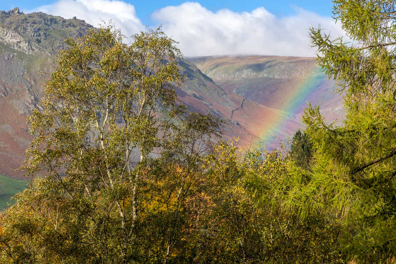 Rainbow near Grasmere