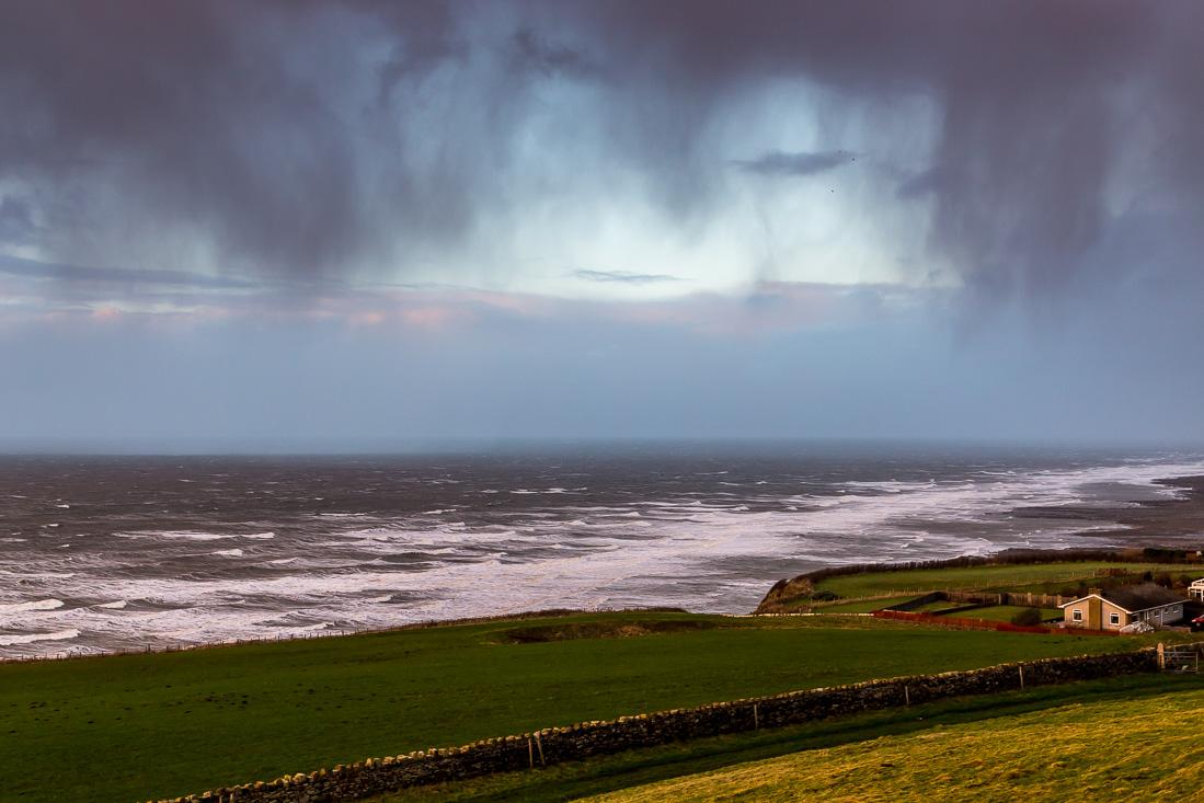 Irish Sea skies