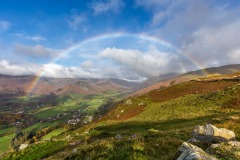 Rainbow near Grasmere
