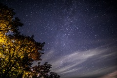 Starry skies over Lorton Vale