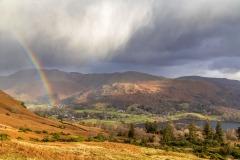 Rainbow over Grasmere