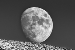 Moon above Lorton Vale