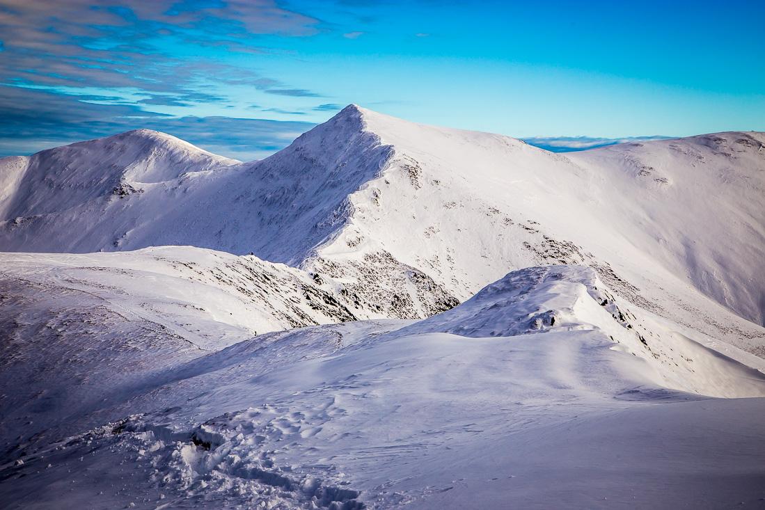 Whiteside ridge to Hopegill Head