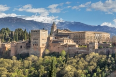 The Sierra Nevada beyond the Alhambra
