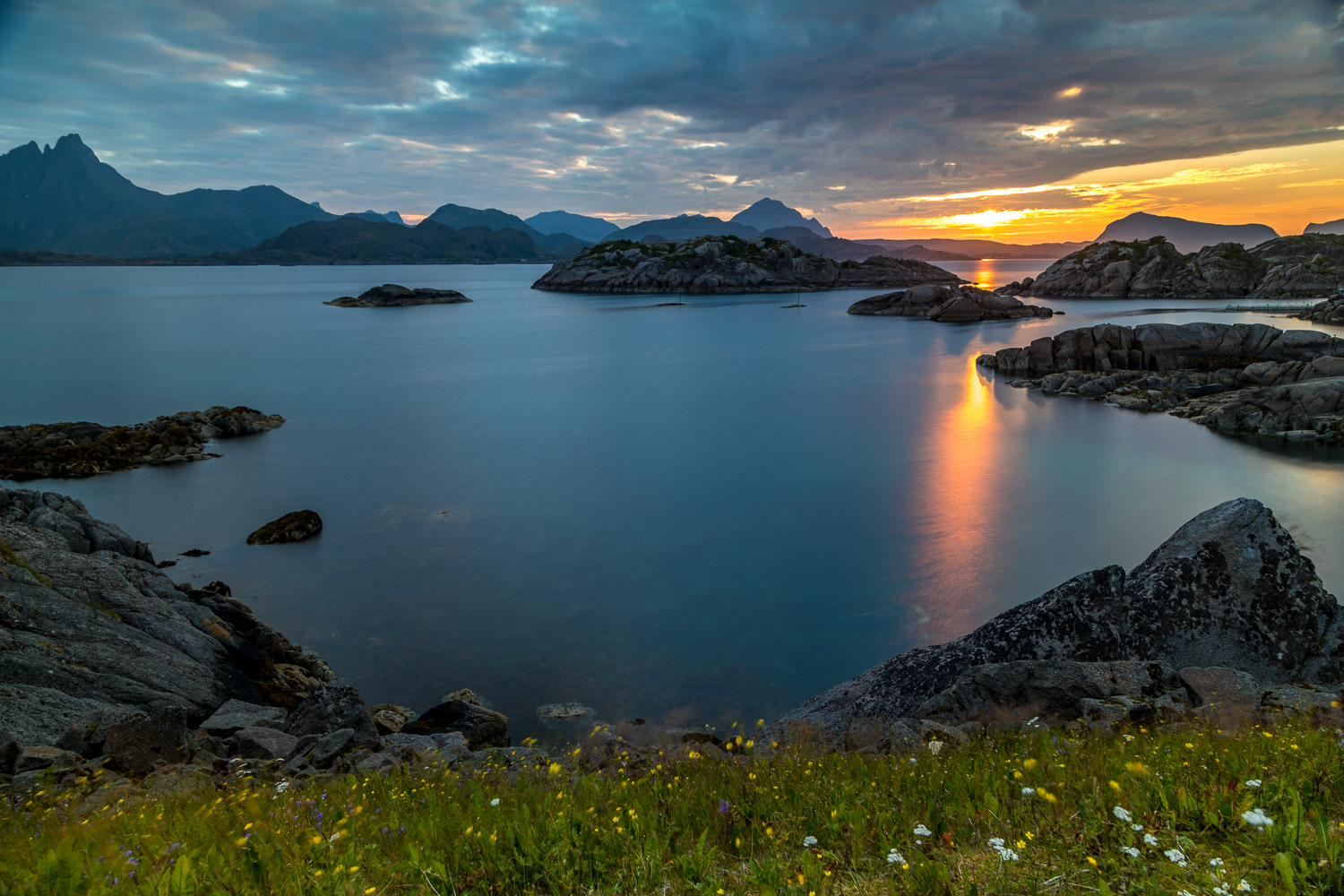 Lofoten Islands sunset