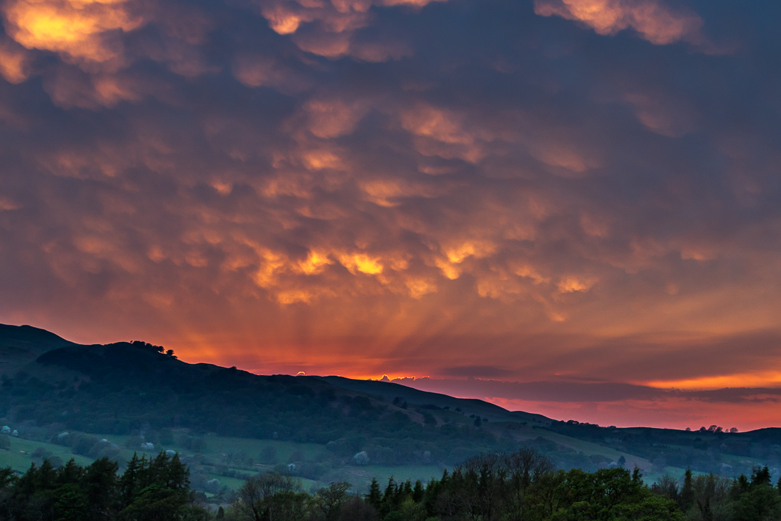 Lorton Vale sunset