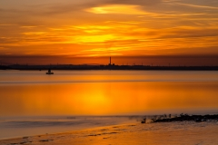 Humber Estuary sunset