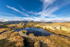 tarn below Satura Crag