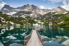 Zürsersee, Austrian Alps