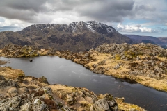 Tarn at the summit of Haystacks