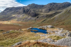 tarn below Scafell, Upper Eskdale