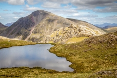 Tarn on Scafell Pike