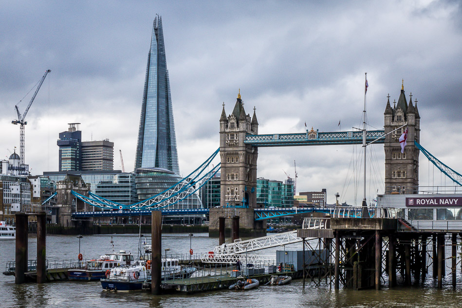 The Shard and Tower Bridge London