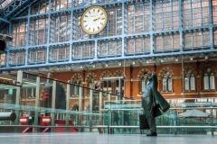 St Pancras Station, London