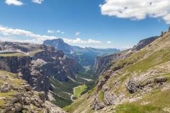 Vallunga, Dolomites