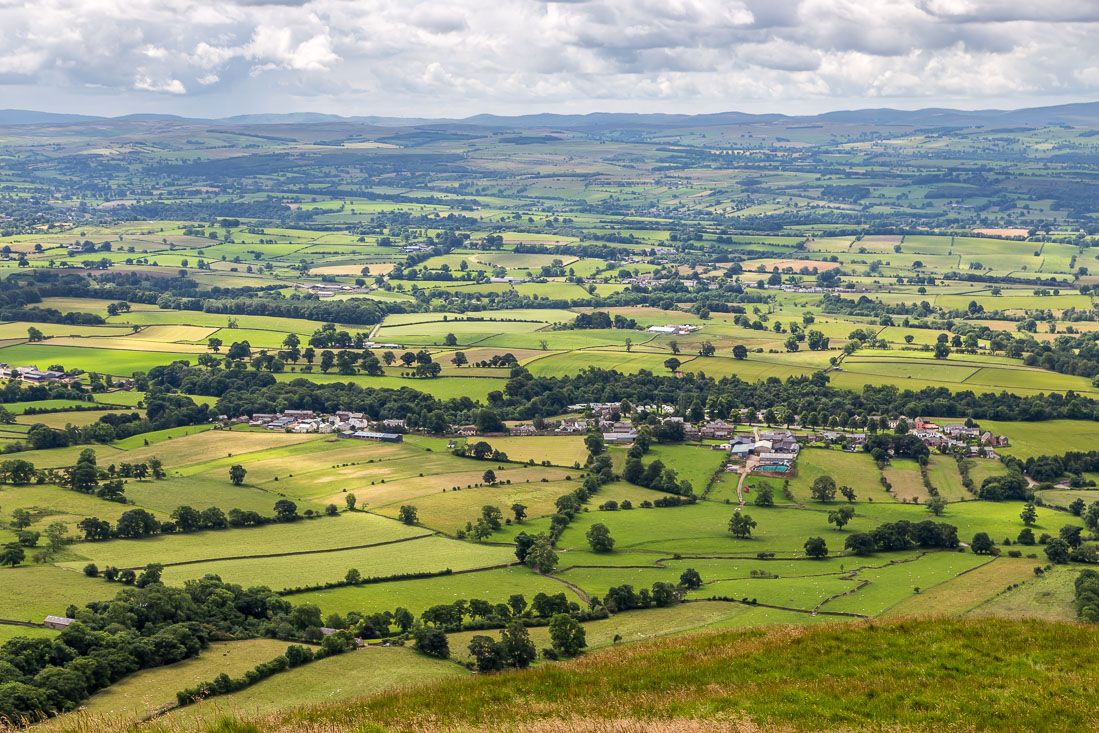 Eden Valley from Dufton Pike