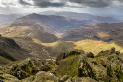 View from Bowfell