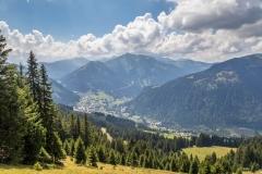 Chablais Alps near Châtel