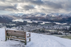 Keswick and Derwent Water from Latrigg