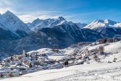 Ftan, Swiss Alps