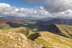 Catbells, Keswick and Derwent Water from Robinson