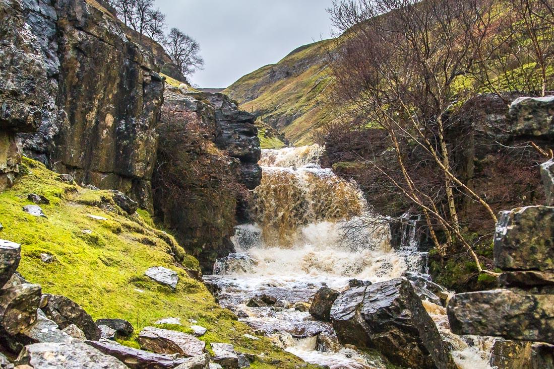 Swinner Gill waterfall