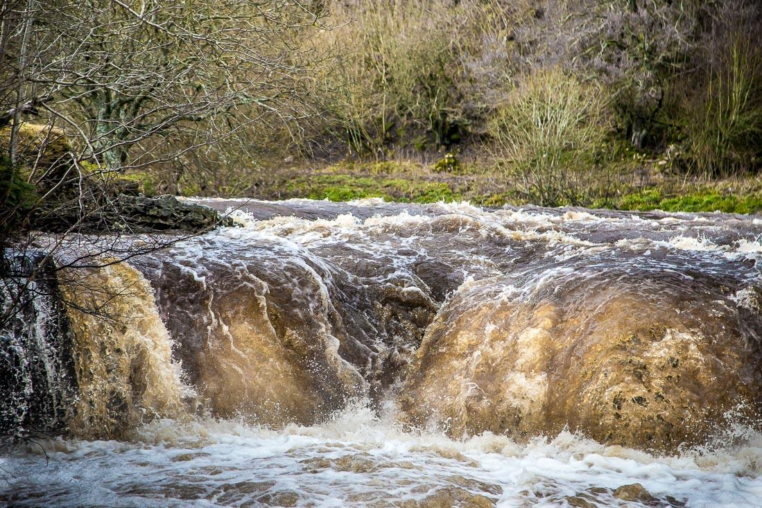 Waterfall near Muker
