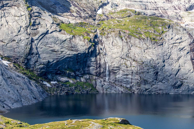 Waterfall Lofoten Islands