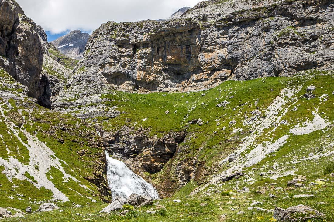 Waterfall Spanish Pyrenees
