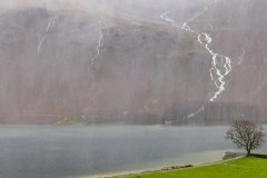 Comb Beck #Buttermere bursting at the seams during torrential rain today