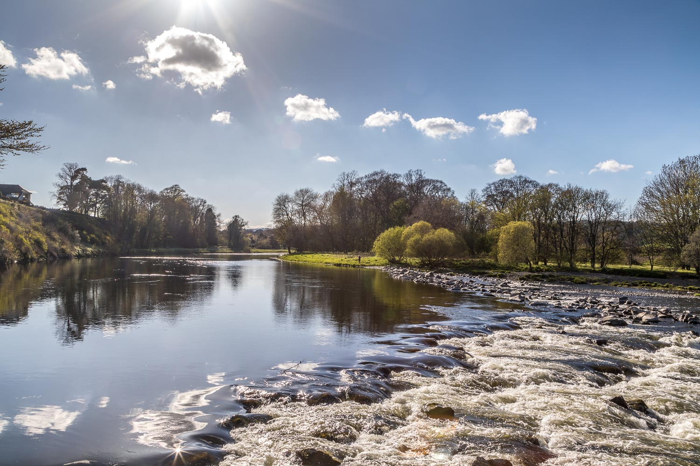 River Tweed, Abbotsford