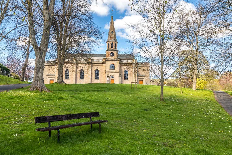 Parish church Melrose