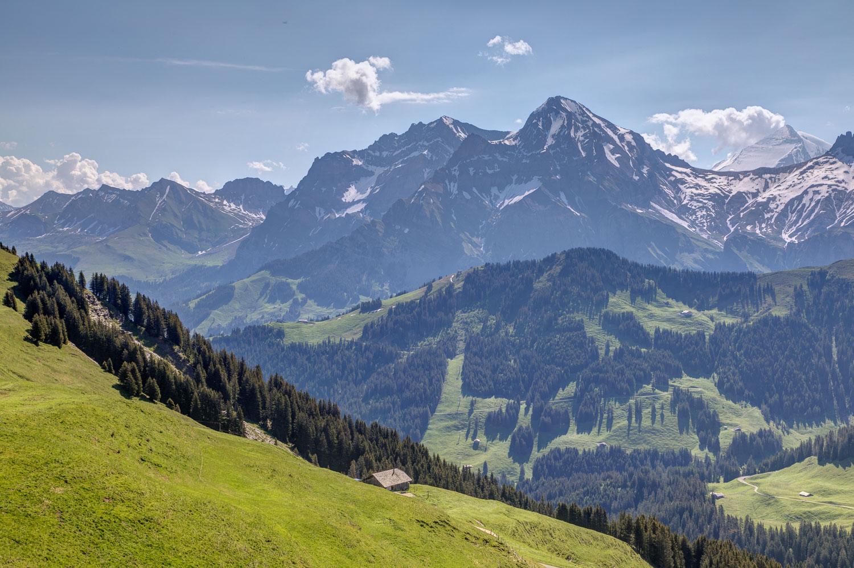 Adelboden to Lenk walk